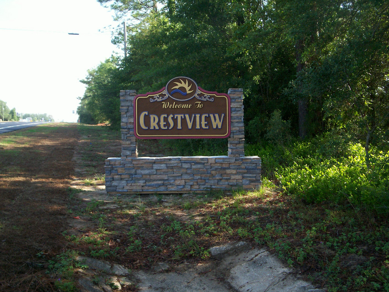 Welcome sign at the Shoal River<br /> PHOTO CREDIT: Wallis Mayo / Florida Trail Association
