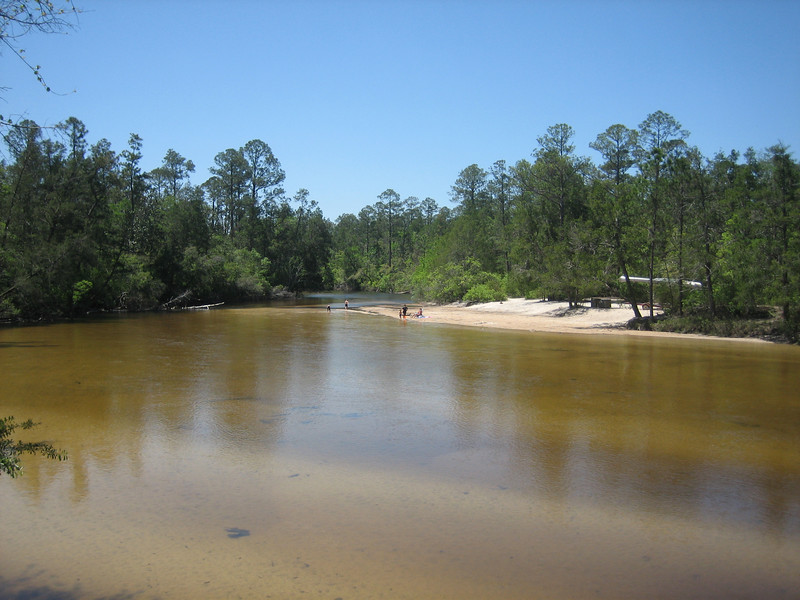 The Blackwater River at Deaton Bridge<br /> PHOTO CREDIT: Sandra Friend / Florida Trail Association