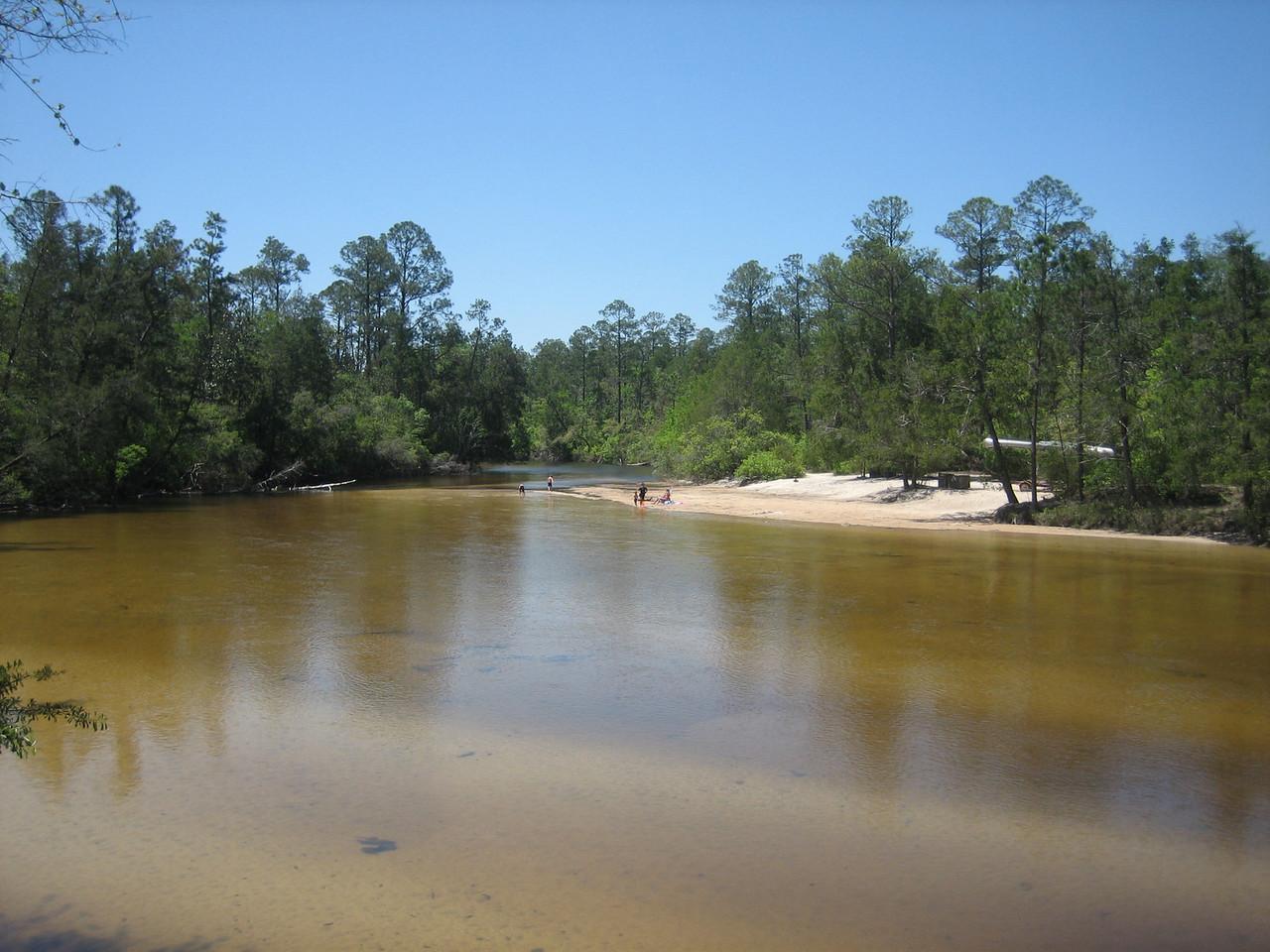 The Blackwater River at Deaton Bridge<br /> PHOTO CREDIT: Sandra Friend / Florida Trail Association
