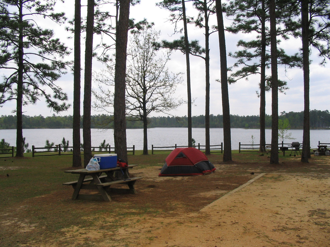 Hurricane Lake campground