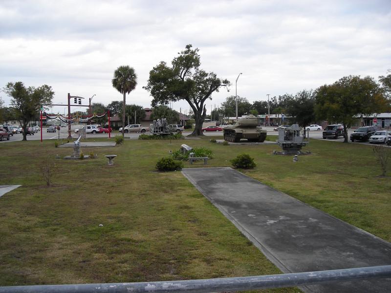 Veteran's Memorial in downtown Okeechobee (Linda Benton)