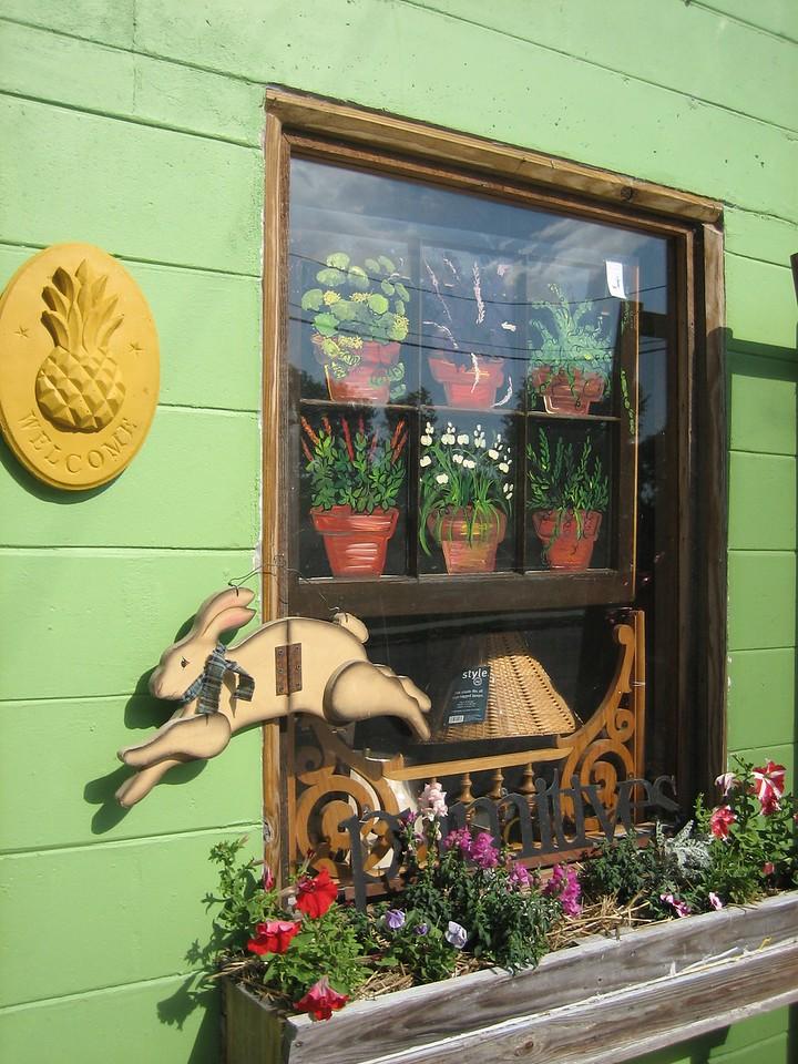 Folk art, downtown White Springs<br /> PHOTO CREDIT: Sandra Friend / Florida Trail Association