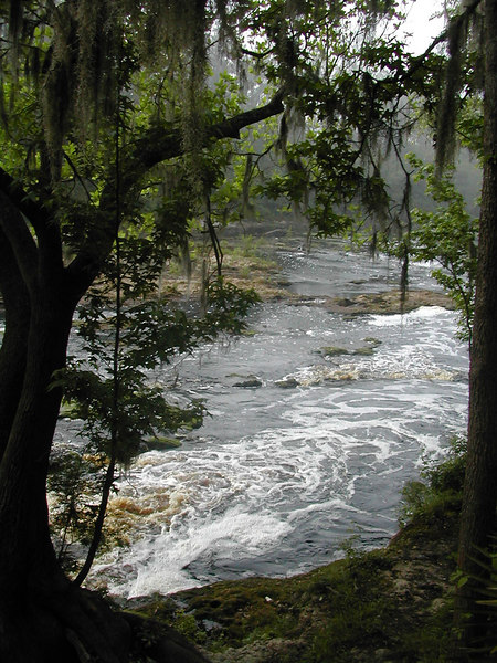 Big Shoals - Florida's only Class III whitewater<br /> PHOTO CREDIT: Sandra Friend / Florida Trail Association