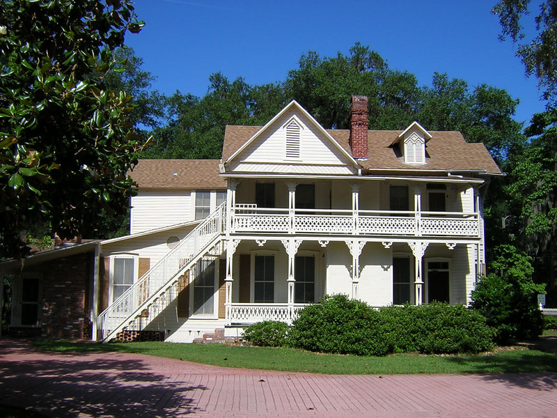 Sophia Jane Adams House B&B<br /> PHOTO CREDIT: Sandra Friend / Florida Trail Association