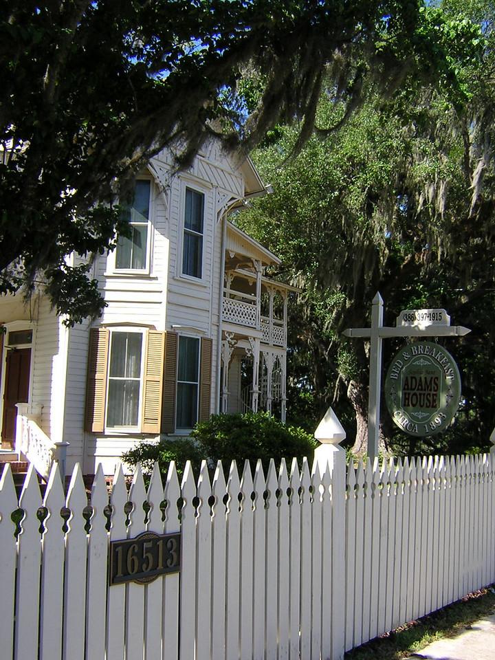 Adams House B&B<br /> PHOTO CREDIT: Sandra Friend / Florida Trail Association
