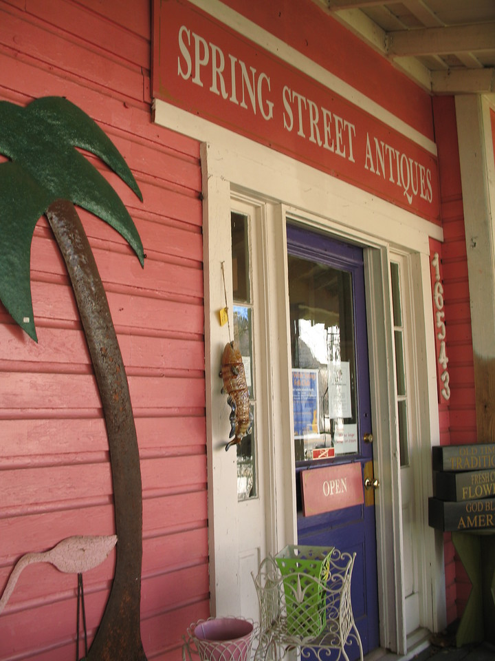 Spring Street Antiques<br /> PHOTO CREDIT: Sandra Friend / Florida Trail Association