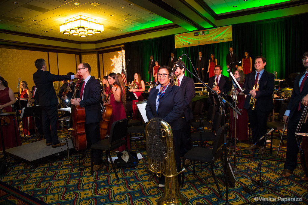 Gateway to L.A.'s 12th Annual Holiday Luncheon Concert featuring  the Azusa Pacific University Choir and Orchestra.  Photo by Venice Paparazzi