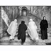 4 Pilgrim women in Via Delarosa.