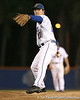 photo by Tim Casey<br /> <br /> Florida senior pitcher Patrick Keating warms up during the Gators' 6-3 win on Friday, February 20, 2009 at McKethan Stadium in Gainesville, Fla.