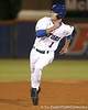 photo by Tim Casey<br /> <br /> Florida senior Avery Barnes runs to third base during the first inning of the Gators' 6-3 win on Friday, February 20, 2009 at McKethan Stadium in Gainesville, Fla.