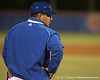 photo by Tim Casey<br /> <br /> Florida baseball assistant coach Craig Bell stands in as the third base coach during the second inning of the Gators' 6-3 win on Friday, February 20, 2009 at McKethan Stadium in Gainesville, Fla.