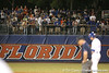 photo by Tim Casey<br /> <br /> Florida fans cheer during the fifth inning of the Gators' 8-5 loss to the Miami Hurricanes on Friday, February 27, 2009 at McKethan Stadium in Gainesville, Fla.