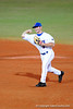 Junior infielder Clayton Pisani throws the ball during the Gators' 8-5 loss to the Miami Hurricanes at McKethan Stadium / Gator Country photo by Casey Brooke Lawson