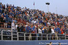 photo by Tim Casey<br /> <br /> Florida fans listen to the national anthem before the Gators' 8-5 loss to the Miami Hurricanes on Friday, February 27, 2009 at McKethan Stadium in Gainesville, Fla.