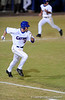 Senior infielder Brandon McArthur runs toward first base during the Gators' 8-5 loss to the Miami Hurricanes at McKethan Stadium / Gator Country photo by Casey Brooke Lawson