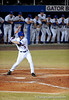 Senior infielder Brandon McArthur prepares to bat during the Gators' 8-5 loss to the Miami Hurricanes at McKethan Stadium / Gator Country photo by Casey Brooke Lawson