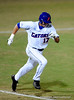 Junior left handed pitcher Matt den Dekker runs toward first base during the Gators' 8-5 loss to the Miami Hurricanes at McKethan Stadium / Gator Country photo by Casey Brooke Lawson