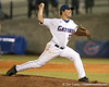 photo by Tim Casey<br /> <br /> Florida senior pitcher Patrick Keating winds up during the fifth inning of the Gators' 8-5 loss to the Miami Hurricanes on Friday, February 27, 2009 at McKethan Stadium in Gainesville, Fla.