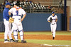 photo by Tim Casey<br /> <br /> Florida junior pitcher Tony Davis enters the game during the sixth inning of the Gators' 8-5 loss to the Miami Hurricanes on Friday, February 27, 2009 at McKethan Stadium in Gainesville, Fla.
