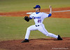 Junior LHP Tony Davis pitches during the Gators' 8-5 loss to the Miami Hurricanes at McKethan Stadium / Gator Country photo by Casey Brooke Lawson