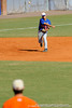 Florida junior Jandy Rosabal throws from third base during the University of Florida Orange and Blue scrimmage game in Gainesville, Fla on November 8, 2008. (Casey Brooke Lawson / Gator Country)