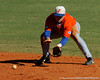 Florida freshman Jerico Weitzel fields a ground ball during the University of Florida Orange and Blue scrimmage game in Gainesville, Fla on November 8, 2008. (Casey Brooke Lawson / Gator Country)