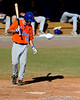 Florida junior Mike Moody walks to the plate during the University of Florida Orange and Blue scrimmage game in Gainesville, Fla on November 8, 2008. (Casey Brooke Lawson / Gator Country)