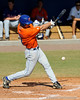 Junior Jonathan Pigott swings during the University of Florida Orange and Blue scrimmage game in Gainesville, Fla on November 8, 2008. (Casey Brooke Lawson / Gator Country)