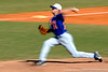 Florida senior pitcher Stephen Locke winds up during the University of Florida Orange and Blue scrimmage game in Gainesville, Fla on November 8, 2008. (Casey Brooke Lawson / Gator Country)