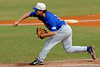 Senior pitcher Patrick Keating pitches during the University of Florida Orange and Blue scrimmage game in Gainesville, Fla on November 8, 2008. (Casey Brooke Lawson / Gator Country)