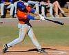 Florida sophomore Josh Adams bats during the University of Florida Orange and Blue scrimmage game in Gainesville, Fla on November 8, 2008. (Casey Brooke Lawson / Gator Country)