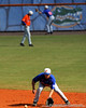 Florida junior Jandy Rosabal field a ground ball during the University of Florida Orange and Blue scrimmage game in Gainesville, Fla on November 8, 2008. (Casey Brooke Lawson / Gator Country)