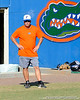 Florida baseball assistant coach Brad Weitzel <br /> watches his team during the University of Florida Orange and Blue scrimmage game in Gainesville, Fla on November 8, 2008. (Casey Brooke Lawson / Gator Country)