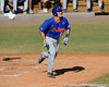 Junior catcher Hampton Tignor runs toward first base during the University of Florida Orange and Blue scrimmage game in Gainesville, Fla on November 8, 2008. (Casey Brooke Lawson / Gator Country)