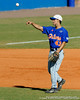 Florida junior Jandy Rosabal throws a ball during the University of Florida Orange and Blue scrimmage game in Gainesville, Fla on November 8, 2008. (Casey Brooke Lawson / Gator Country)