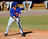 Junior catcher Hampton Tignor prepares to take a swing during the University of Florida Orange and Blue scrimmage game in Gainesville, Fla on November 8, 2008. (Casey Brooke Lawson / Gator Country)