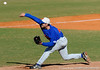 Florida freshman Jeff Barfield pitches during the University of Florida Orange and Blue scrimmage game in Gainesville, Fla on November 8, 2008. (Casey Brooke Lawson / Gator Country)