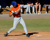 Florida junior  outfielder Jonathan Pigott bats during the University of Florida Orange and Blue scrimmage game in Gainesville, Fla on November 8, 2008. (Casey Brooke Lawson / Gator Country)