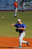 Florida junior Jandy Rosabal throws to the pitcher during the University of Florida Orange and Blue scrimmage game in Gainesville, Fla on November 8, 2008. (Casey Brooke Lawson / Gator Country)