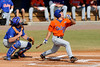 Florida junior Mike Moody bats during the University of Florida Orange and Blue scrimmage game in Gainesville, Fla on November 8, 2008. (Casey Brooke Lawson / Gator Country)