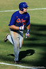 Senior Teddy Foster runs toward first base during the University of Florida Orange and Blue scrimmage game in Gainesville, Fla on November 8, 2008. (Casey Brooke Lawson / Gator Country)