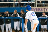 Preston Tucker watches his first grand slam of the night leave McKethan Stadium in the bottom of the fifth inning during the University of Florida 16-3 win against the University of Central Florida on 4/8/09         Photo by: Tim Darby