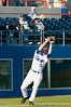 Brandon McArthur catches a fly ball during the University of Florida 16-3 win against the University of Central Florida on 4/8/09         Photo by: Tim Darby