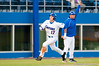 Matt den Dekker rounds third on his way to score UF's first run in the third inning during the University of Florida 16-3 win against the University of Central Florida on 4/8/09         Photo by: Tim Darby