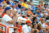 Fans react to the University of Florida Gators 7-9 loss to Southern Miss at McKethan Stadium in Gainesville, Fla. on Saturday, June 6, 2009. / Gator Country photo by Casey Brooke Lawson