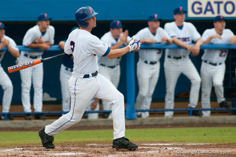 Photos taken during game 1 of the NCAA Super Regional between the University of Florida and the University of Southern Mississippi on June 6, 2009.  Photo by Tim Darby