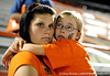 Fans react to the University of Florida Gators 6-7 loss to Southern Miss at McKethan Stadium in Gainesville, Fla. on Sunday, June 7, 2009. / Gator Country photo by Casey Brooke Lawson