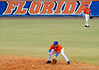 "(Casey Brooke Lawson / Gator Country) Jerico Weitzel fields the ball during the University of Florida ""Meet the Team"" event for UF baseball on Saturday, February 14, 2009."
