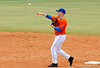 "(Casey Brooke Lawson / Gator Country) Jerico Weitzel throws the ball during the University of Florida ""Meet the Team"" event for UF baseball on Saturday, February 14, 2009."