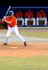 "(Casey Brooke Lawson / Gator Country) Clayton Pisani prepares to bat during the University of Florida ""Meet the Team"" event for UF baseball on Saturday, February 14, 2009."